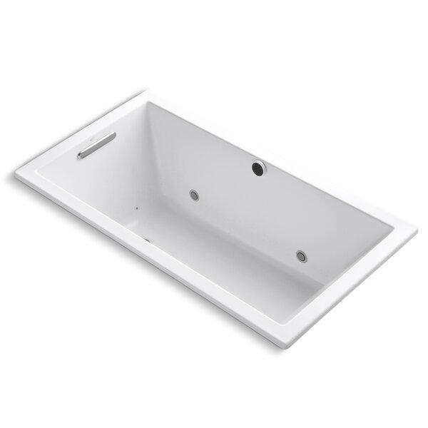 Underscore Bubblemassage 60 x 32 Whirpool Bathtub by Kohler