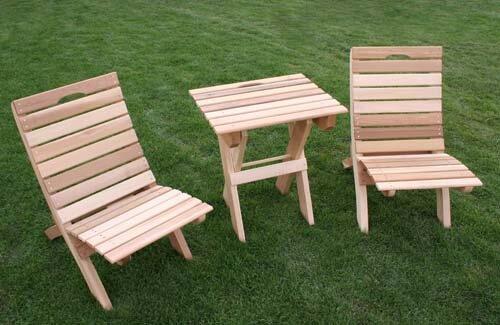Tillison Cedar 3 Piece Seating Group Set by August Grove