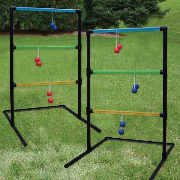 Beginner Transparent 15 Piece Ladder Toss Set by Triumph Sports USA