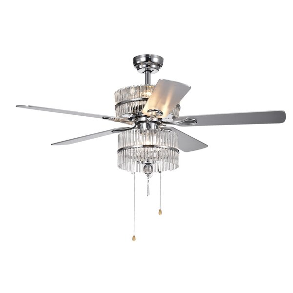 52 Ademar 5 Blade LED Ceiling Fan by House of Hamp