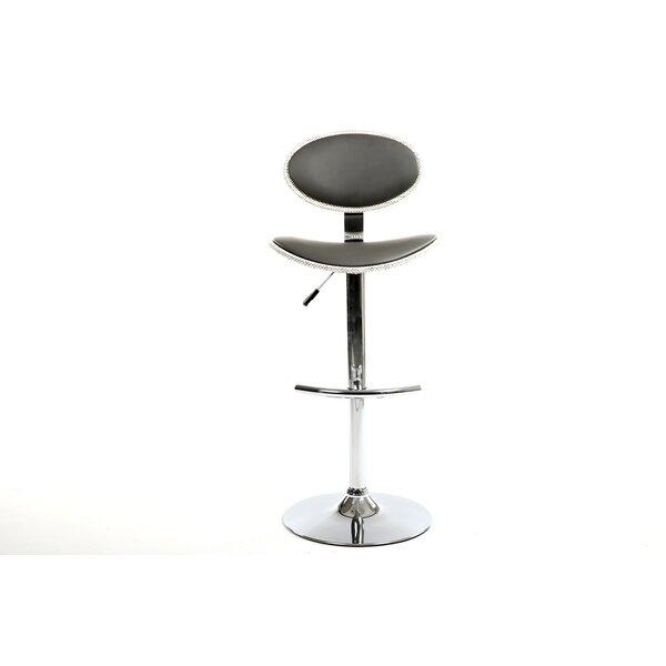 Ferran Adjustable Height Swivel Bar Stool by Orren Ellis Orren Ellis