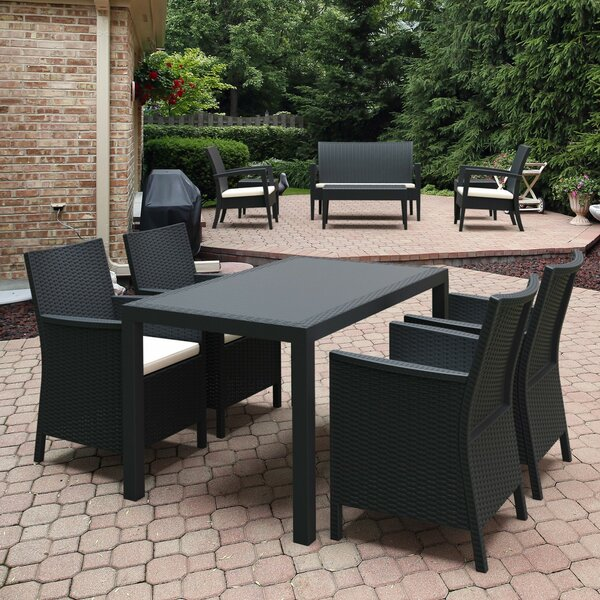 Radcliffe California 5 Piece Dining Set by Brayden Studio