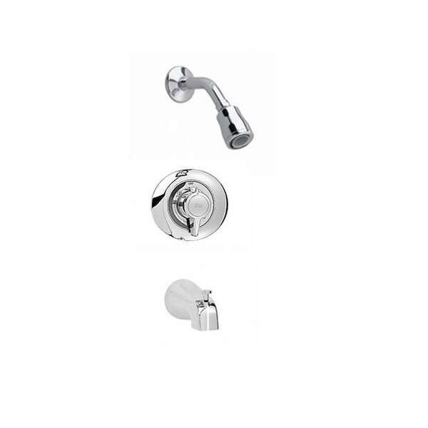 Colony Diverter Shower Faucet Trim Kit with Metal Lever Handle and FloWise by American Standard