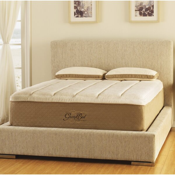 GrandBed™ 15 Medium Firm Euro Top Mattress by Tempur-Pedic