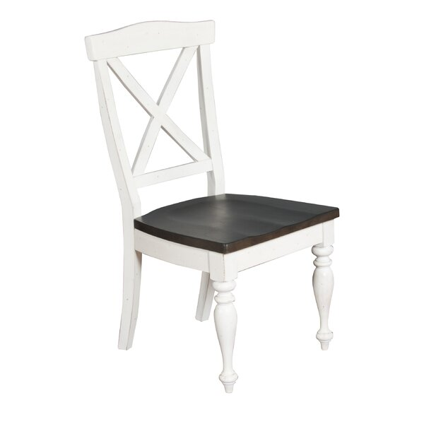 Villepinte X-Back Dining Chair by August Grove