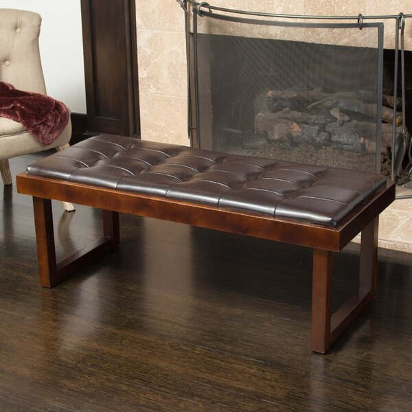 Narisol Upholstered Bench by Home Loft Concepts