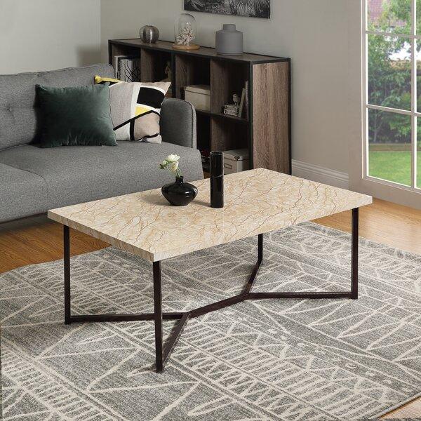 Prem Cross Legs Coffee Table By Brayden Studio