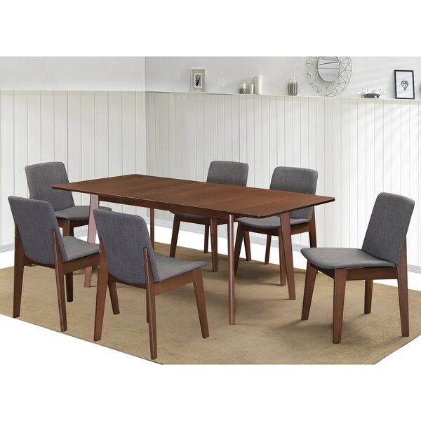 Montclaire 7 Piece Extendable Dining Set by Ebern Designs Ebern Designs