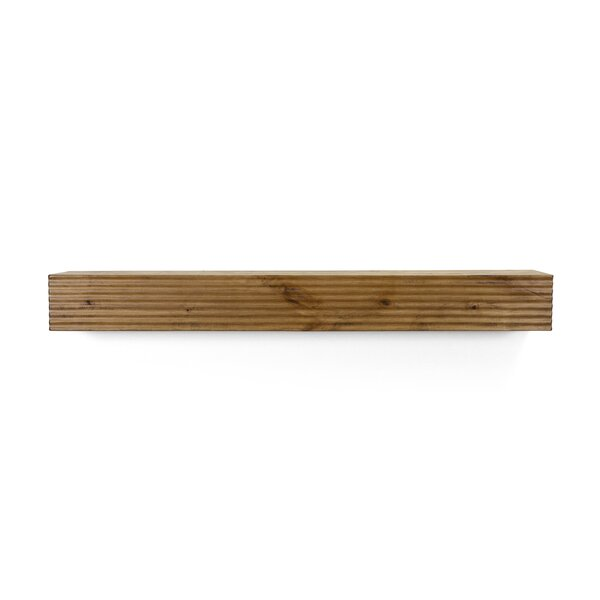 Hand Scraped Fireplace Shelf Mantel by Dogberry Collections