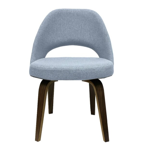 Wetzler Armless Upholstered Dining Chair by George Oliver