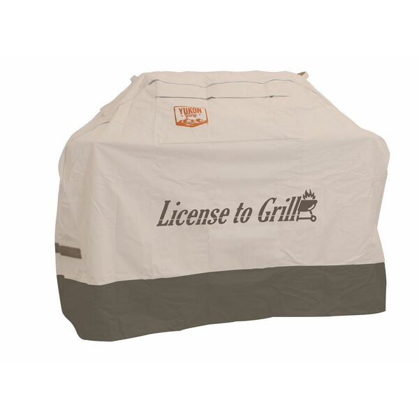 Extra Large Universal License to Grill Cover by Yukon Glory