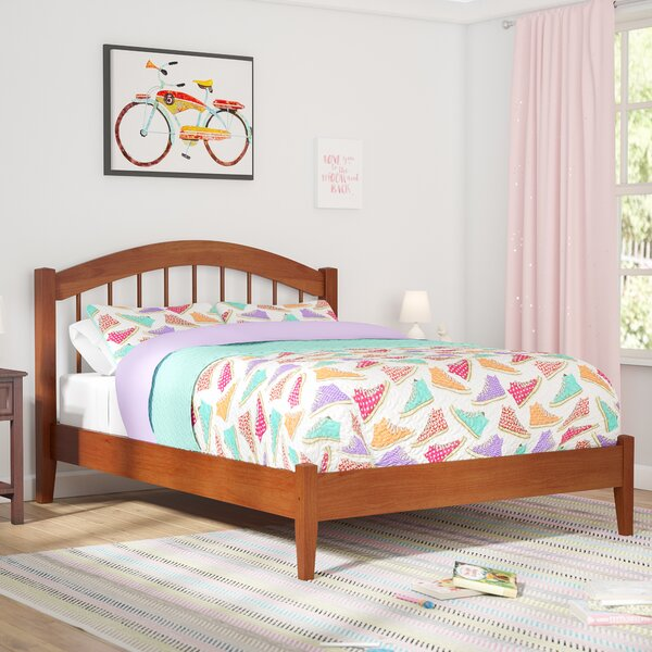 Holliston Panel Platform Bed by Harriet Bee