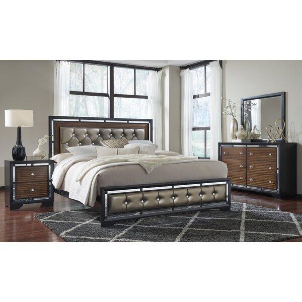 Landrum Upholstered Panel Configurable Bedroom Set by Orren Ellis