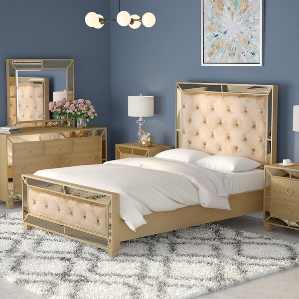 Alasdair Platform Configurable Bedroom Set by Willa Arlo Interiors