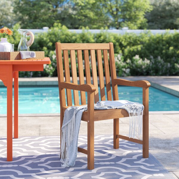 Brighton Stacking Patio Dining Chair by Sol 72 Outdoor