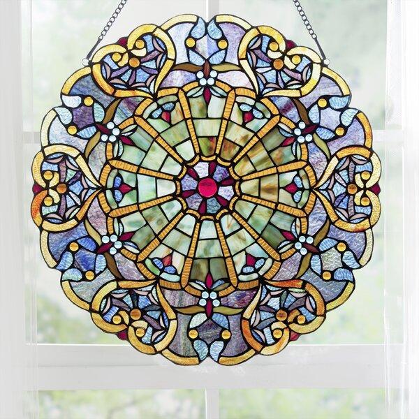 Mayers Webbed Heart Window Panel by August Grove
