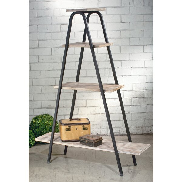 Schilling A-Form Ladder Bookcase By Williston Forge