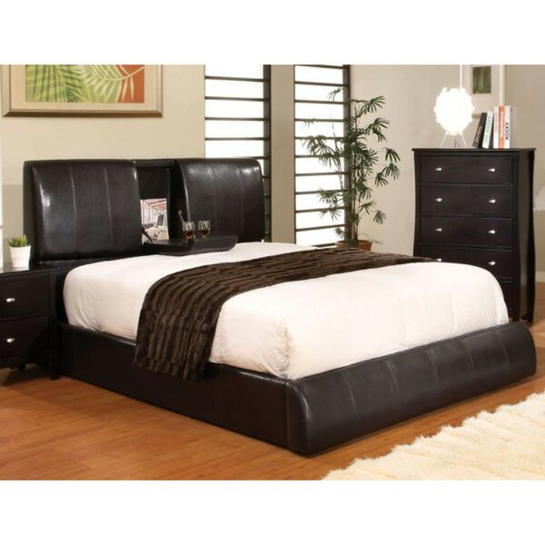 Marnell California King Upholstered Platform Bed by Latitude Run