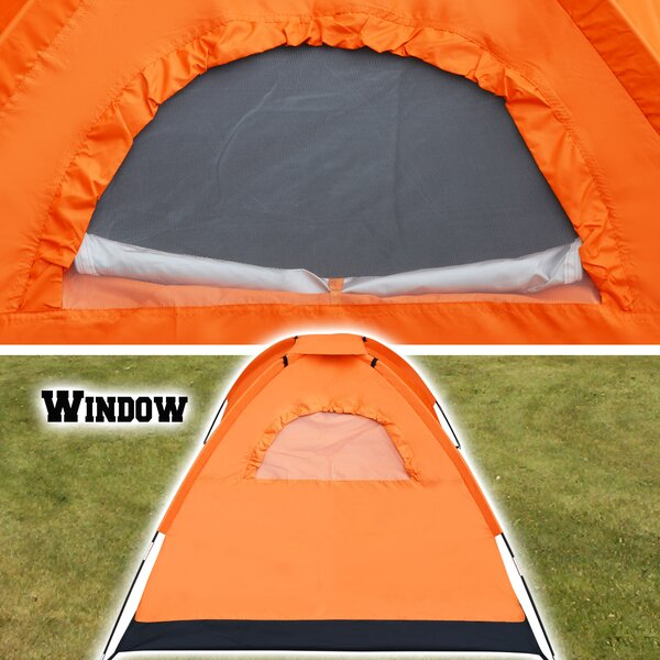 Portable Backpacking 3 Person Tent for Family Camping Hiking Traveling by Sunrise Outdoor LTD