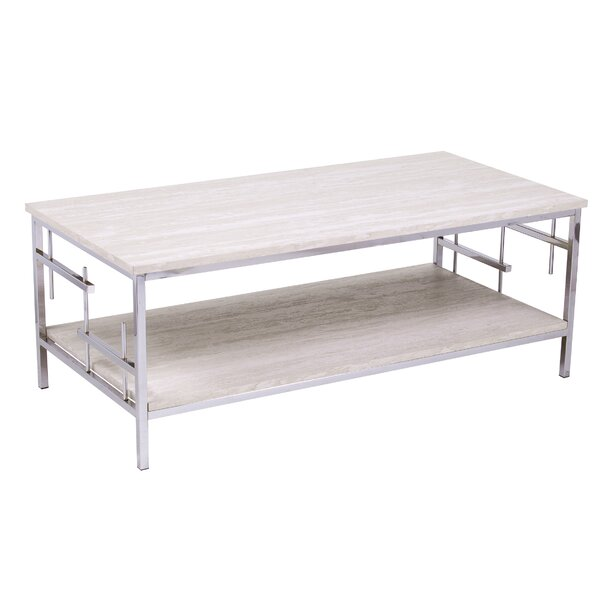 Freston Coffee Table with Storage by Mercer41 Mercer41