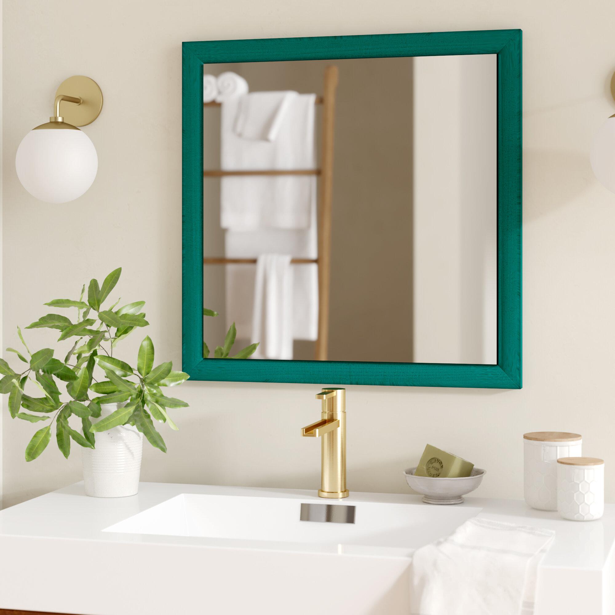 Brayden Studio Eulalie Rustic Wall Mirror Wayfair