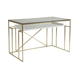 Signature Designs Glass Writing Desk