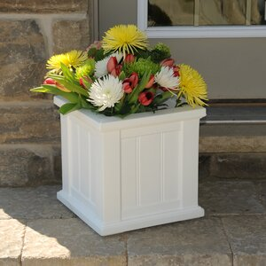Cape Cod Self-Watering Plastic Planter Box