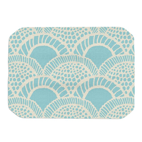 Suzie Tremel Heathered Scales Placemat by East Urban Home