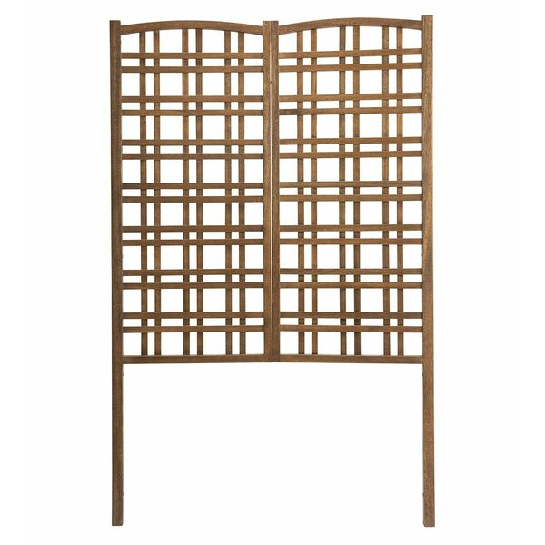 Outdoor Eucalyptus Privacy Wood Trellis by Plow & Hearth