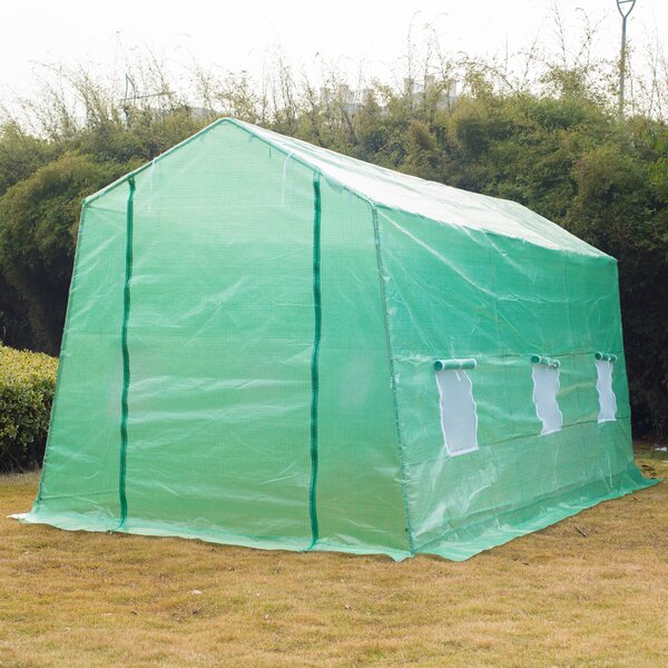 6 Ft. W x 15 Ft. D Hobby Greenhouse by Outsunny