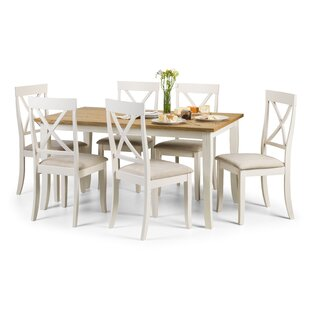 Zara Dining Set With 6 Chairs