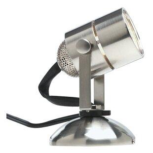 houzz glass with watt steel lamps floor halogen modern torchiere bowl lamp