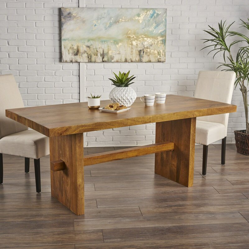 Bon Burkhardt Mango Wood Dining Table