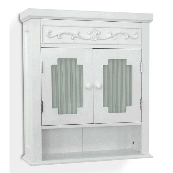 Chapeau 21 W x 24.19 H Wall Mounted Cabinet by Lark Manor
