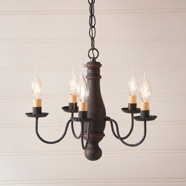 Vistawood 5 - Light Candle Style Classic / Traditional Chandelier by Gracie Oaks Gracie Oaks