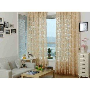 Sheer Single Curtain Panel