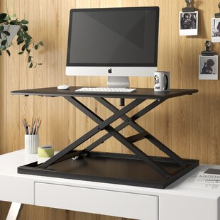 Pneumatic Adjustable Standing Desk Converter