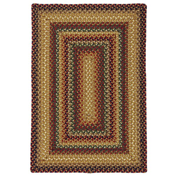 Canterbury Gold Indoor/Outdoor Area Rug by Homespice Decor