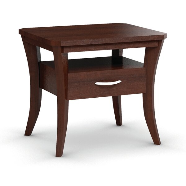 Cosmo End Table With Drawer by Caravel