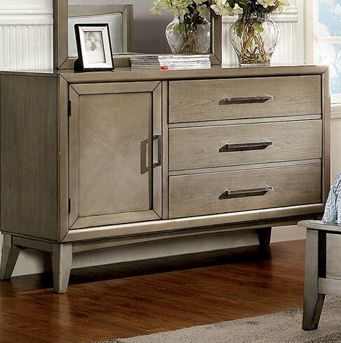 Albarado 3 Drawer Combo Dresser by Brayden Studio