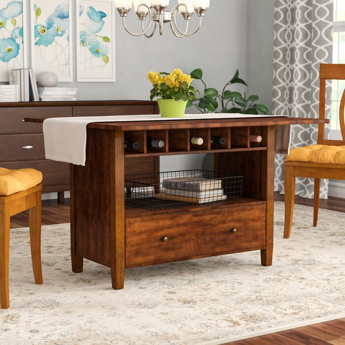 Emestine Extendable Drop Leaf Dining Table