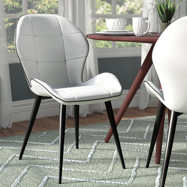 Dillman Upholstered Dining Chair (Set of 2) by Wrought Studio