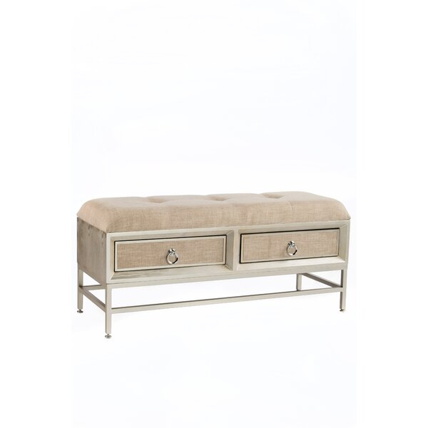 Kavia Upholstered Storage Bench by House of Hampton