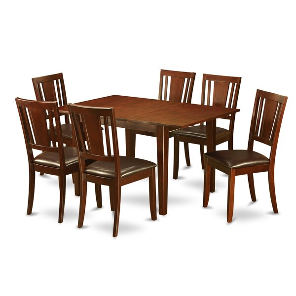 Milan 7 Piece Dining Set by Wooden Importers