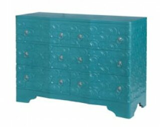 Galatea Sandal 6 Drawer Accent Chest by Bungalow Rose