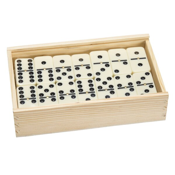 55 Piece Double Nine Dominoes Set by Hey! Play!