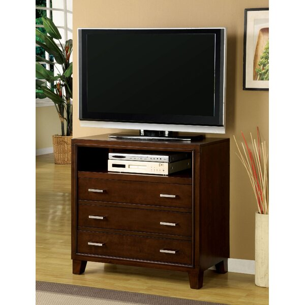 Rafferty Holderness 3 Drawer Media Chest by Latitude Run