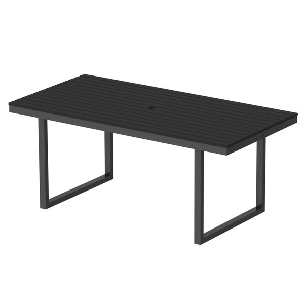 Kinzie Outdoor Modern Dining Table by Elan Furniture