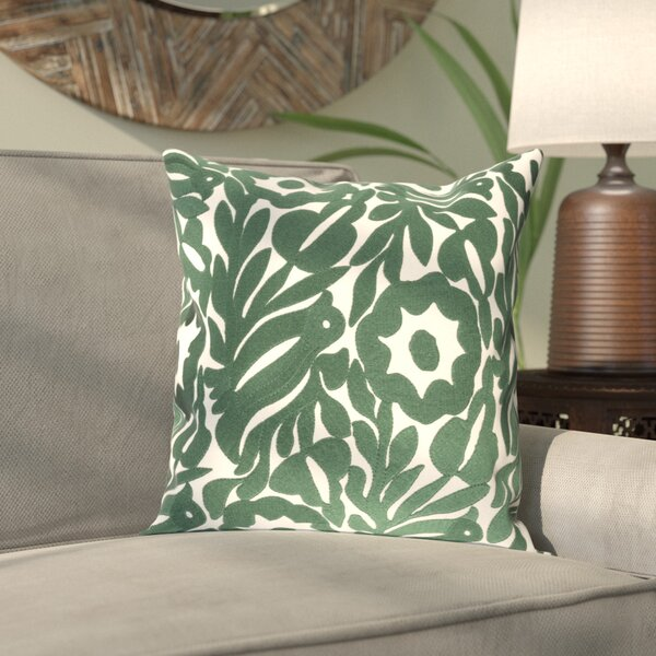 Barwick Cotton Pillow Cover by Bungalow Rose