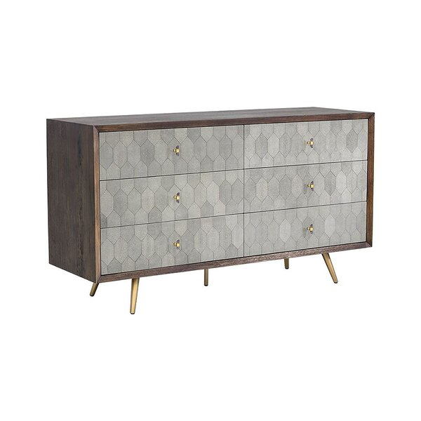 Yancy 6 Drawer Double Dresser by Corrigan Studio